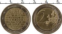 Изображение Монеты Португалия 2 евро 2018 Биметалл UNC-
