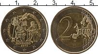 Продать Монеты Словакия 2 евро 2017 Биметалл