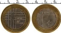 Продать Монеты Словения 3 евро 2016 Биметалл