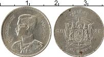 Изображение Монеты Таиланд 10 сатанг 1950 Олово XF