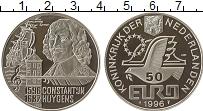 Изображение Монеты Нидерланды 50 евро 1996 Серебро Proof UNUSUAL, Константин