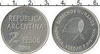 Продать Монеты Аргентина 2 песо 2006 Медно-никель
