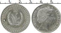 Изображение Монеты Австралия 20 центов 2011 Медно-никель UNC-