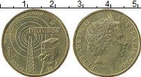 Изображение Монеты Австралия 1 доллар 2006 Латунь XF 50 лет австралийског