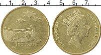Изображение Монеты Австралия 5 долларов 1992 Латунь UNC-