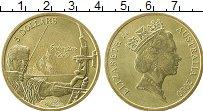Изображение Монеты Австралия 5 долларов 2000 Латунь UNC- Олимпийские игры Сид