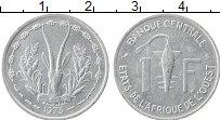 Изображение Монеты Западная Африка 1 франк 1973 Алюминий XF