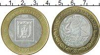 Изображение Монеты Мексика 100 песо 2003 Серебро UNC- Центральный  круг -