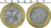 Изображение Монеты Мексика 100 песо 2006 Серебро UNC- Центральный  круг -