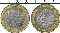 Изображение Монеты Мексика 20 песо 2017 Биметалл XF 100 лет конституции