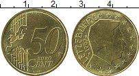 Продать Монеты Люксембург 50 евроцентов 2007 Латунь