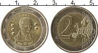 Изображение Монеты Бельгия 2 евро 2009 Биметалл UNC- 200 лет со дня рожде