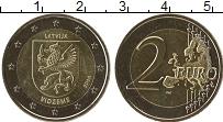 Продать Монеты Латвия 2 евро 2016 Биметалл