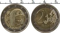 Изображение Монеты Словакия 2 евро 2018 Биметалл UNC-
