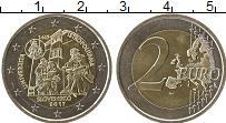 Изображение Монеты Словакия 2 евро 2017 Биметалл UNC-