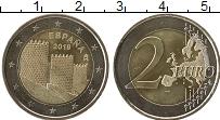 Изображение Монеты Испания 2 евро 2019 Биметалл UNC-