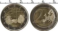 Изображение Мелочь Финляндия 2 евро 2018 Биметалл UNC- Культура финской сау