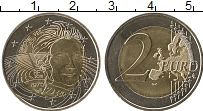 Изображение Монеты Франция 2 евро 2018 Биметалл UNC-