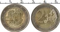 Изображение Монеты Австрия 2 евро 2018 Биметалл UNC-