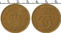 Изображение Монеты Дания 2 кроны 1925 Латунь XF Кристиан Х