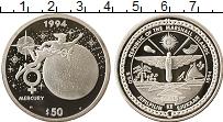 Изображение Монеты Маршалловы острова 50 долларов 1994 Серебро Proof