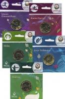 Изображение Подарочные монеты Азербайджан Европейские игры 2015 года 2015 Латунь UNC