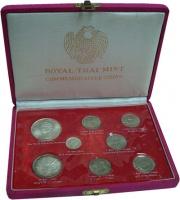 Изображение Подарочные монеты Таиланд Набор монет Таиланда 0  UNC-