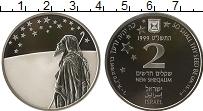 Продать Монеты Израиль 2 шекеля 1999 Серебро