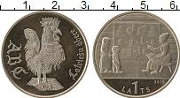 Продать Монеты Латвия 1 лат 2010 Медно-никель