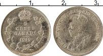 Изображение Монеты Канада 5 центов 1919 Серебро XF Георг V