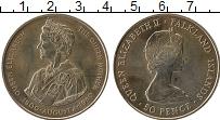 Изображение Монеты Фолклендские острова 50 пенсов 1980 Медно-никель UNC-