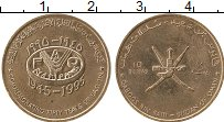 Продать Монеты Оман 10 байз 1995 сталь с медным покрытием