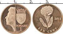 Продать Монеты Бонайре 1 цент 2011 Медь