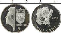 Продать Монеты Бонайре 5 центов 2011 Медно-никель