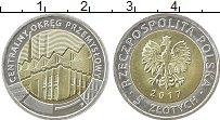 Изображение Монеты Польша 5 злотых 2017 Биметалл UNC