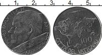 Изображение Монеты Ватикан 100 лир 1985 Медно-никель UNC Иоанн Павел II