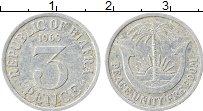 Изображение Монеты Биафра 3 пенса 1969 Алюминий XF