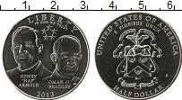 Изображение Монеты США 1/2 доллара 2013 Медно-никель UNC Генералы Армии США,