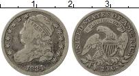 Изображение Монеты США 10 центов 1834 Серебро XF-