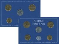 Изображение Подарочные монеты Финляндия Набор монет 1980 года 1980  UNC