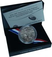 Изображение Подарочные монеты США 50 центов 2016 Медно-никель UNC Памятная монета номи