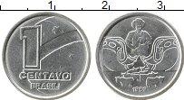 Изображение Монеты Бразилия 1 сентаво 1989 Медно-никель UNC-