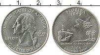 Изображение Мелочь США 1/4 доллара 2004 Медно-никель UNC-