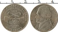 Изображение Мелочь США 5 центов 2004 Медно-никель UNC P, 200 лет Экспедици