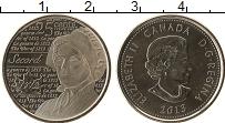 Изображение Монеты Канада 25 центов 2013 Медно-никель Proof-