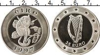 Изображение Монеты Ирландия 25 евро 1997 Серебро Proof