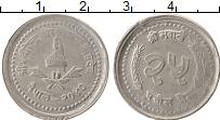 Изображение Монеты Непал 25 пайс 1983 Алюминий XF