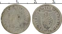 Изображение Монеты Филиппины 10 сентаво 1908 Серебро VF Американская админис
