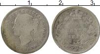 Изображение Монеты Канада 5 центов 1880 Серебро VF Виктория