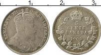 Изображение Монеты Канада 5 центов 1905 Серебро XF